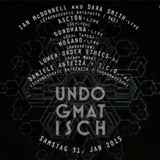 Lower Order Ethics // Undogmatisch 6 // Urban Spree Berlin // 31 Jan 2015