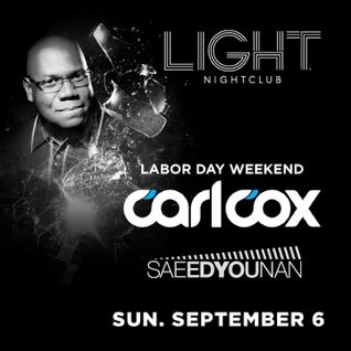 Saeed Younan Opening set for Carl Cox - LIGHT Las Vegas Sept 6 2015