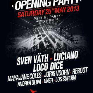 ANDREA OLIVA / Live broadcast from the Ushuaia Opening / 25.05.2013 / Ibiza Sonica
