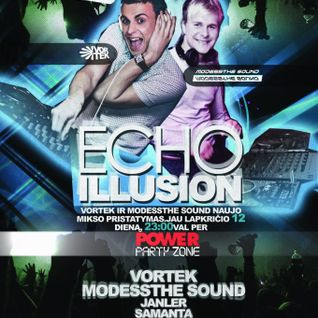 Vortek ft. Modessthe Sound - ECHO ILLUSION (Power Partyzone special mix)