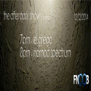El Grego @ Afterdark Radio Show
