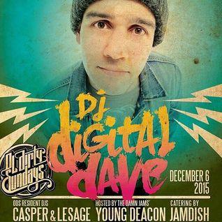 DJ Digital Dave Live From Ol' Dirty Sundays (ODS) Dec 6, 2015