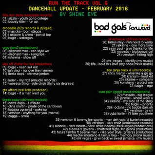 run the track vol 6... dancehall update february 2016