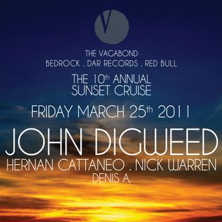 The 10th Annual Sunset Cruise with Nick Warren, Denis A, Hernan Cattaneo & John Digweed (25-03-2011)