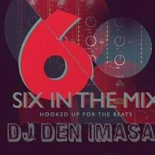 DJ Den Imasa  featured in 6 in the Mix on  Xone FM