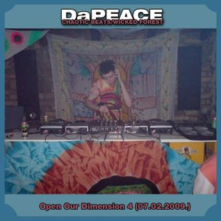 DaPEACE - DJ Set at Open Our Dimension #4 (2009)