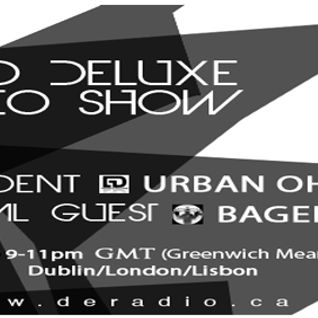 ECHO DELUXE RADIO SHOW (DeRadio,Vancouver) - URBAN OHMZ (31-Aug12)