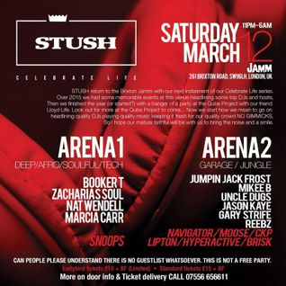 Stush - Marcia DavinylMC Live from JAMM, London