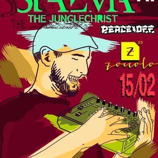 """Stazma the Junglechrist @ Zoccolo 2.0 SPb, Russia (""""Breakcore Day II"""" 15-02-2014)"""