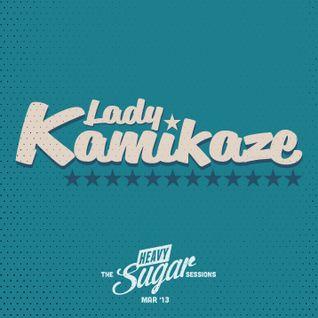 The Heavy Sugar sessions - DJ Lady Kamikaze, Mar '13