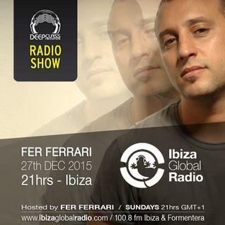 (Dec 2015) DeepClass Radio Show / Ibiza Global Radio - Hosted by Fer Ferrari