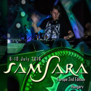 CJ Art Live @ Samsara Festival 2016 (Hungary) [09.07.2016]