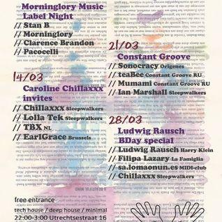 chillaxxx @ Sleepwalkers Backstage : Ludwig Rausch BDay Special 28.03.2012
