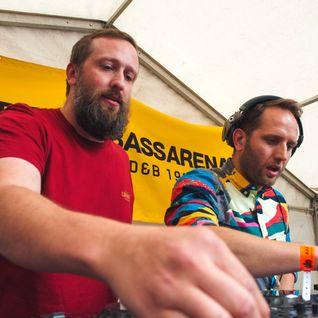 Drum & Bass Arena Summer BBQ - 04 - The Vanguard Project BCee b2b Villem @ MoS - London (03.07.2016)
