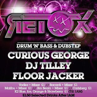 Floor Jacker  Commercial Dubstep and Drum & Bass Promo Mix, Retox, Wed April 18th 2012 @ Tokyo, Brad