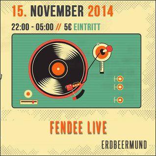 Fendee @ Erdbeermund Karlsruhe [15.11.2014]