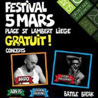 Phat Beatz (Equinox): radio show promoting Hip-Hop festival in Liège saturday 5 March (part.1)