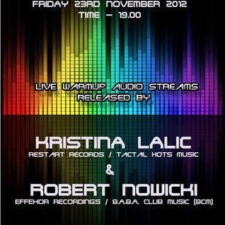 Tapasbar Belgrade presents Robert Nowicki - Live mix recorded on 23rd November 2012