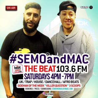 #SEMOandMAC: @DJSemo @Macnificent32 11.06.2016 4-7pm
