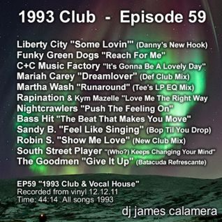 "EP59 ""1993 Club & Vocal House"" 12.12.11"