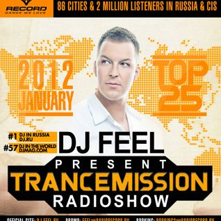 DJ Feel - TranceMission (Top 25 Of January 2012)