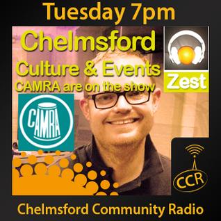Zest - @ZestChelmsford - Matt Willis - 17/06/14 - Chelmsford Community Radio