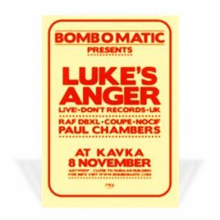 Paul Chambers @ Bomb O Matic - Kavka Antwerpen - 08.11.2008