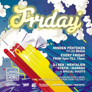 Mentalien - Live at Friday - A38, 23-05-2014