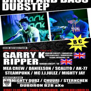 DJ Steampunk & MC Mighty Jay - Freaq Festival Warm Up @ Franz K (01-06-2013)