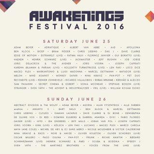 Dave Clarke & DJ Bone @ Awakenings Festival 2016 (2016.06.26 - Spaarnwouden, Netherlands)