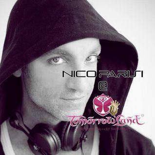 Nico Parisi @ Tomorrowland 2014 - Weekend 2 - Sat. July 26th. Classics progressive set Bonzai Stage