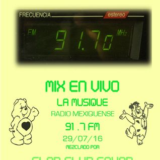 MIX EN VIVO @ La musique 91.7 fm  Radio Mexiquense