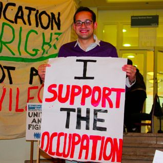 UCL Occupation Coverage - NUS President Aaron Porter Meets the UCL Occupation