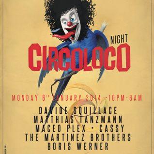 Cassy @ The BPM Festival 2014 - Circoloco Night,Blue Parrot (06-01-14)