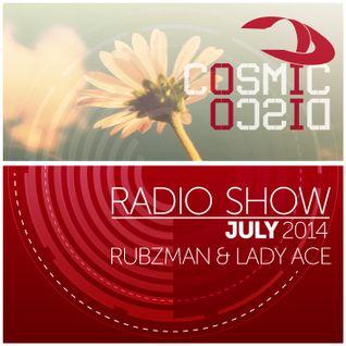 Cosmic Disco Radioshow - JULY 2014