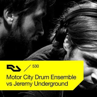 RA.530 Motor City Drum Ensemble  vs Jeremy Underground