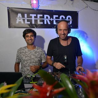 Guy J and Guy Mantzur - b2b at Alter+Ego Secret Surf Party, Santa Eularia, Ibiza (20-09-2015)