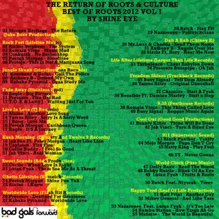 the return of roots and culture - best of roots 2012 vol 1