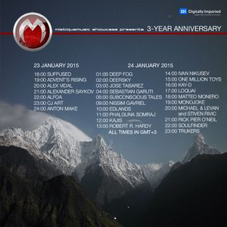 Sebastian Garuti - MistiqueMusic showcase 3-Year anniversary on Digitally Imported