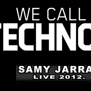 Samy Jarrar - We call it Techno Vol.1  (live set)