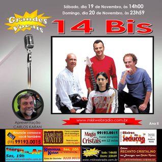 Programa Grandes Vocais 19/11/2016 - 14 BIS
