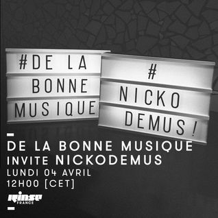 De La Bonne Musique Invite Nickodemus - 04 Avril 2016