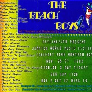 Beach Boys - Jamaica World Music Festival 1982-11-26 Master Soundboard