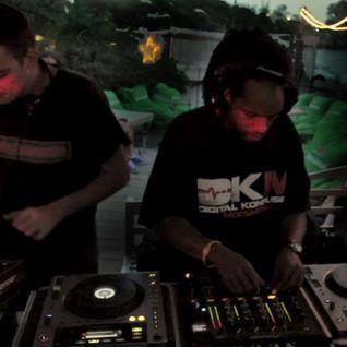 DJ JOE-JOE and ATTILA  THE FUN_ LIVE AT CRYSTAL BEACH Pt3