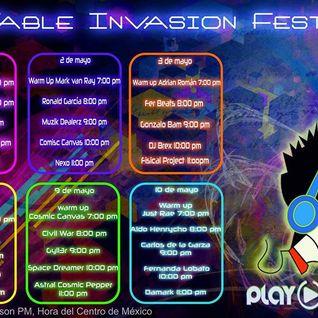 Cosmic Canvas Pres. Rubber - #InvasionFest 2015