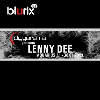 Live @ Diggarama pres. Lenny Dee (Aquarius, 30.01.2009)