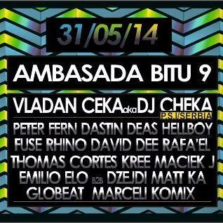 AMBASADA BITU 9 Poland - Zawiercie -31.5.2014- Dj Cheka ( P.S.I. ) SERBIA.