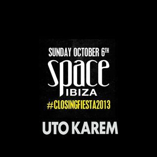 Uto Karem @ Space Ibiza Closing Fiesta - 06.10.2013