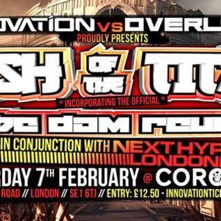 "INNOVATION VS OVERLOAD DJ ENTRY "" DJ A1 "" 30 MIN JUMP UP MIX"""