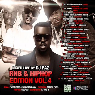 DJ PAZ RNB & HIP HOP VOL.4